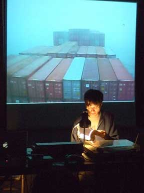 Time Machine performance - Bill Brown and Sabine Gruffat